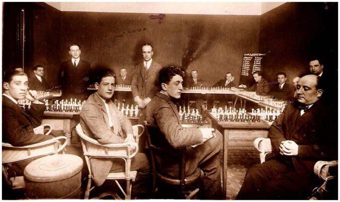 19-3-1928 – Simultànies a 22 taulers