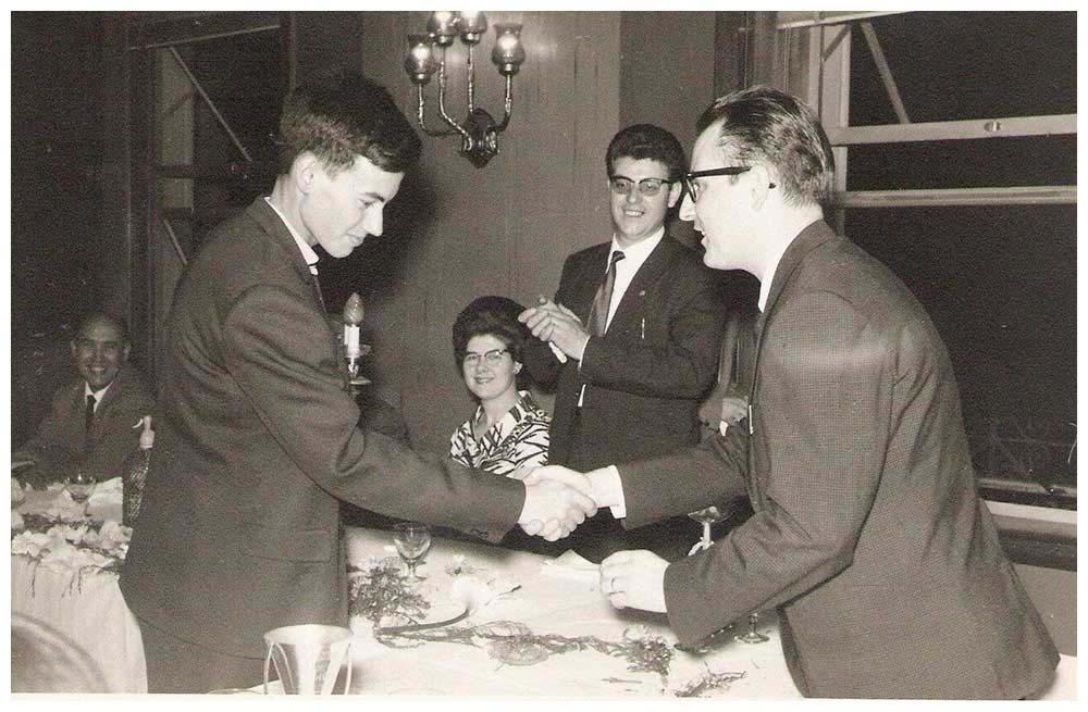 Entrega de premis 1965