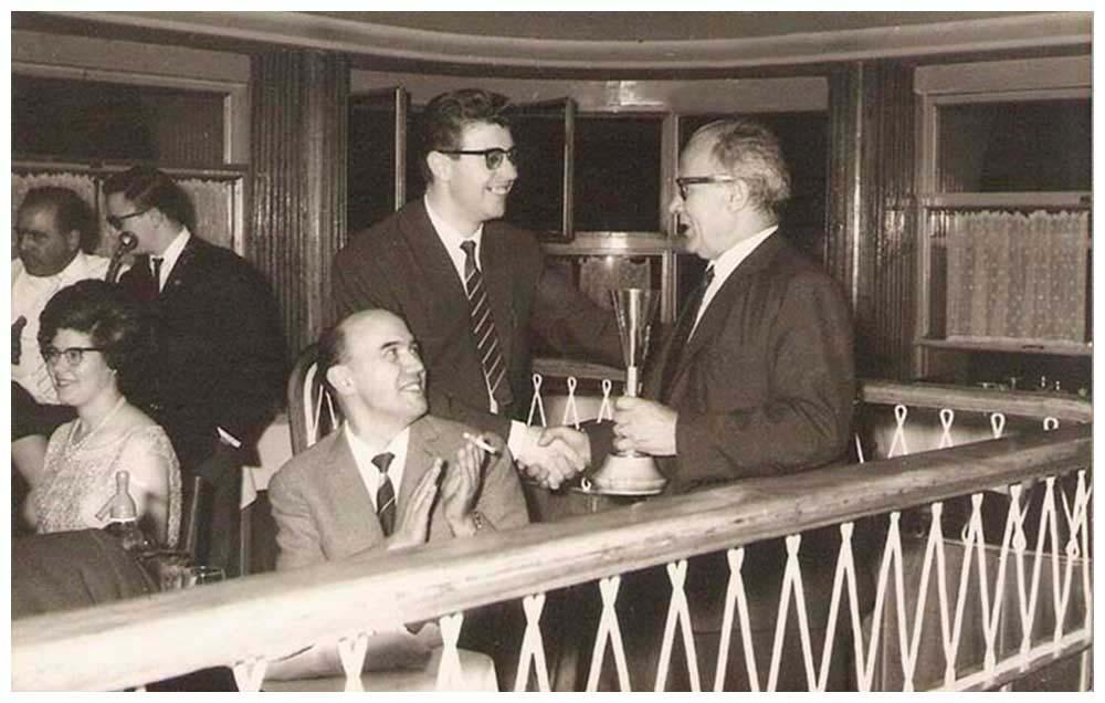 Entrega de premis 1966 Manresa