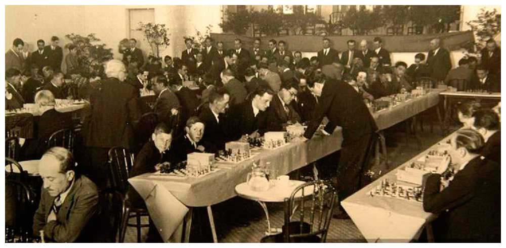 7-7-1935 Salomon Flohr a Manresa