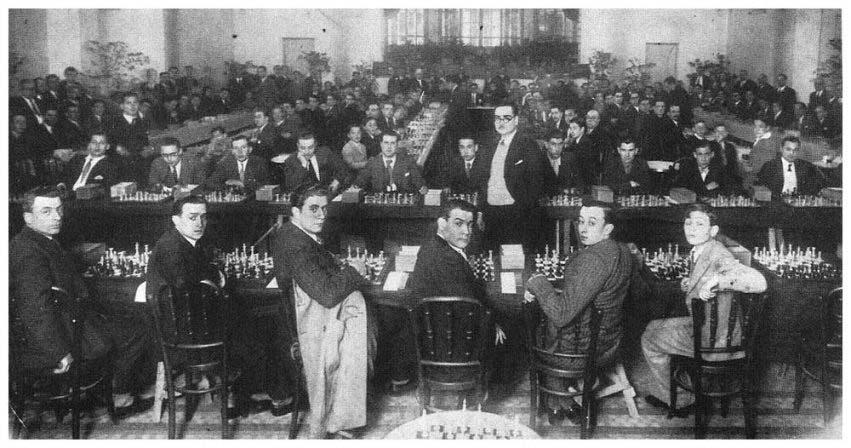 Simultanies Manresa 1933
