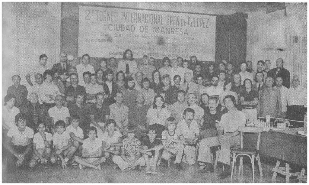 II Torneig Open Internacional d'Escacs Ciutat de Manresa 1974