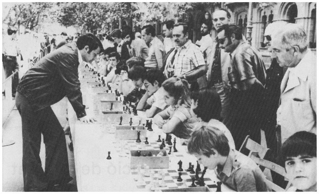 Simultànies al Passeig de Manresa 1979